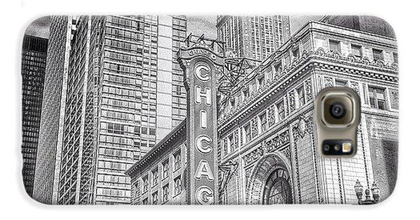 City Galaxy S6 Case - #chicago #chicagogram #chicagotheatre by Paul Velgos