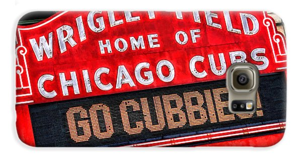 Wrigley Field Galaxy S6 Case - Chicago Cubs Wrigley Field by Christopher Arndt