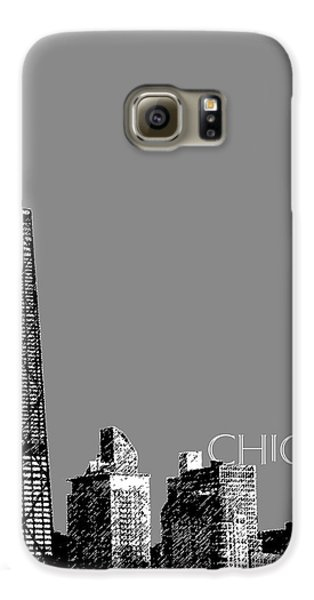 Chicago Hancock Building - Pewter Galaxy S6 Case by DB Artist