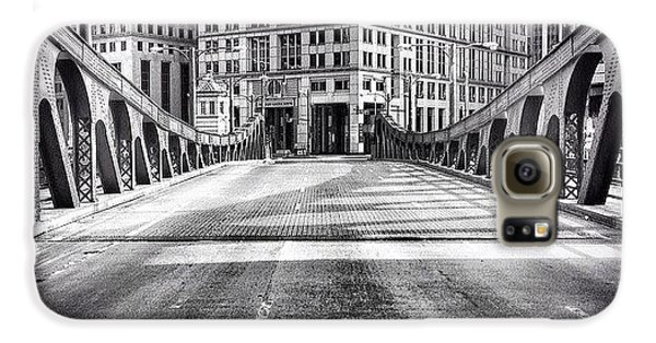 #chicago #hdr #bridge #blackandwhite Galaxy S6 Case
