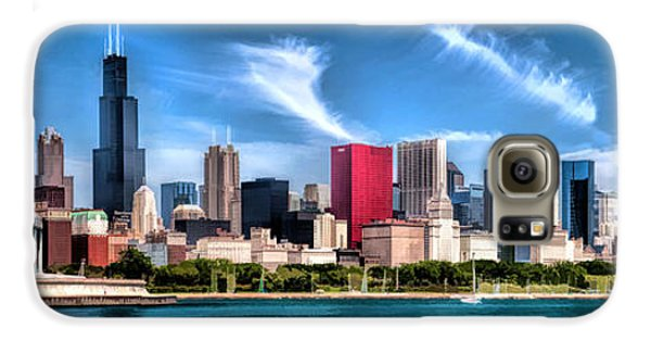 Chicago Skyline Panorama Galaxy S6 Case