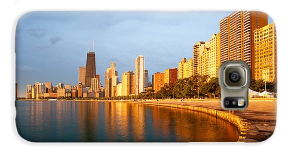 Chicago Skyline Galaxy S6 Case by Sebastian Musial