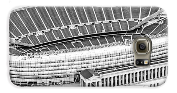 Chicago Soldier Field Aerial Panorama Photo Galaxy S6 Case