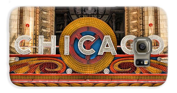 Chicago Theatre Marquee Sign Galaxy S6 Case