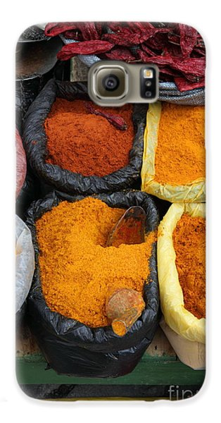 Colours Galaxy S6 Case - Chilli Powders 3 by James Brunker