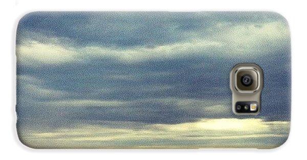 Sky Galaxy S6 Case - Chilly Morning by Jill Tuinier