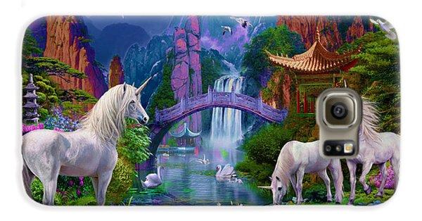 Chinese Unicorns Galaxy S6 Case by Jan Patrik Krasny