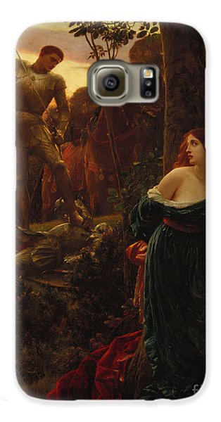 Knight Galaxy S6 Case - Chivalry by Sir Frank Dicksee