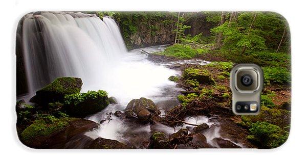 Choushi - Ootaki Waterfall In Summer Galaxy S6 Case