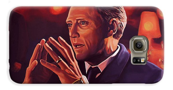 Christopher Walken Painting Galaxy S6 Case