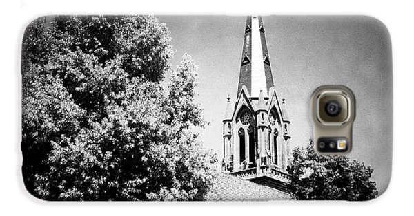 Church In Black And White Galaxy S6 Case by Matthias Hauser