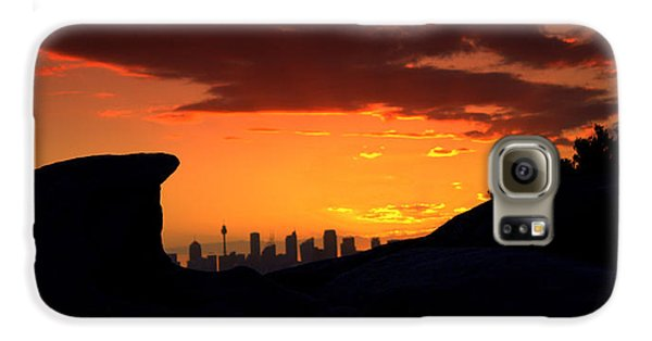 Galaxy S6 Case featuring the photograph City In A Palm Of Rock by Miroslava Jurcik