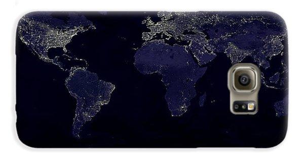 City Lights Galaxy S6 Case by Sebastian Musial
