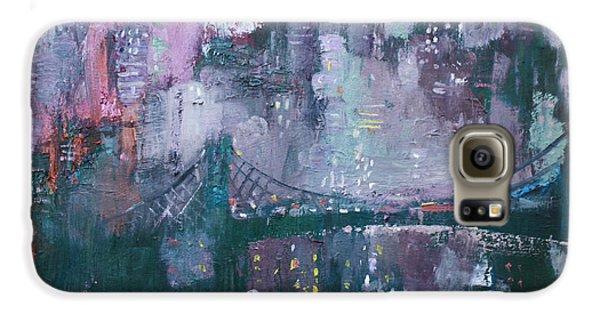 Brooklyn Bridge Galaxy S6 Case - City That Never Sleeps by Ylli Haruni