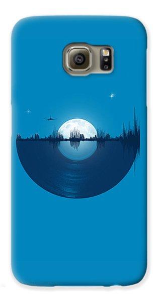 City Scenes Galaxy S6 Case - City Tunes by Neelanjana  Bandyopadhyay
