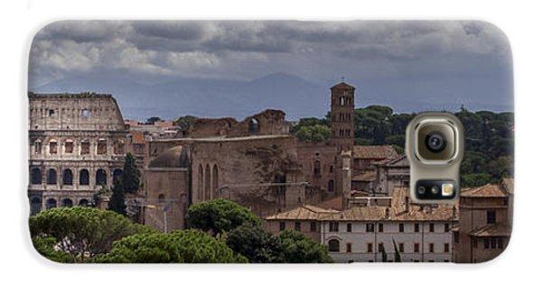 Rome Italy Cityscape Galaxy S6 Case