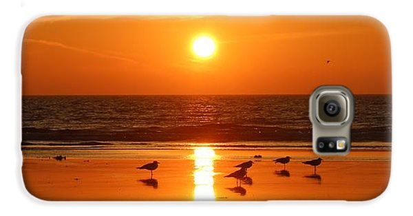 Clam Digging At Sunset - 2 Galaxy S6 Case