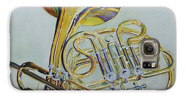 Trumpet Galaxy S6 Case - Classic Brass by Jenny Armitage