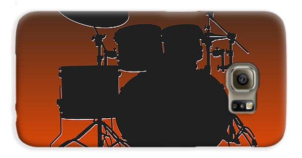 Cleveland Browns Drum Set Galaxy S6 Case by Joe Hamilton