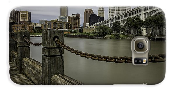 Cleveland Ohio Galaxy S6 Case by James Dean