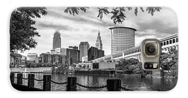 Cleveland River Cityscape Galaxy S6 Case