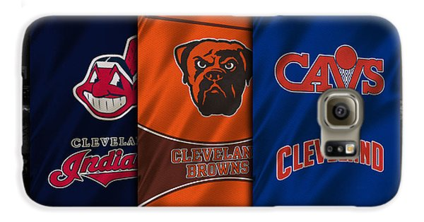 Hockey Galaxy S6 Case - Cleveland Sports Teams by Joe Hamilton