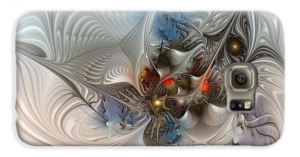 Cuckoo Galaxy S6 Case - Cloud Cuckoo Land-fractal Art by Karin Kuhlmann