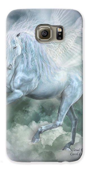 Pegasus Galaxy S6 Case - Cloud Dancer by Carol Cavalaris