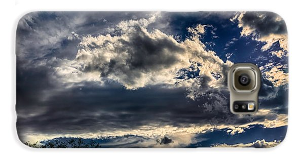 Galaxy S6 Case featuring the photograph Cloud Drama by Mark Myhaver