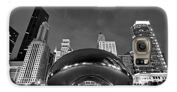 Travel Galaxy S6 Case - Cloud Gate And Skyline by Adam Romanowicz