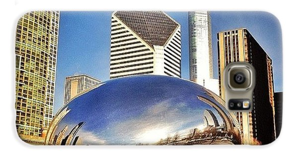 Colorful Galaxy S6 Case - Cloud Gate chicago Bean Sculpture by Paul Velgos