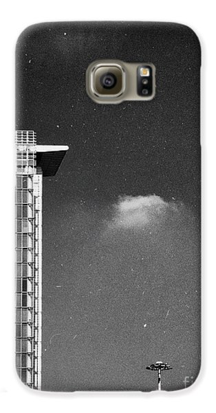 Galaxy S6 Case featuring the photograph Cloud Lamp Building by Silvia Ganora