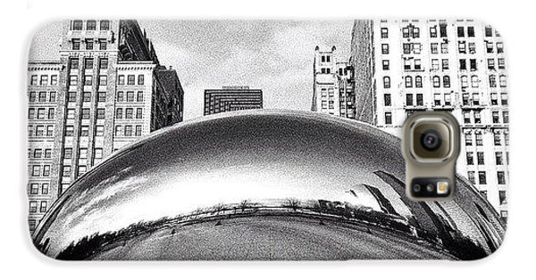 Architecture Galaxy S6 Case - Chicago Bean Cloud Gate Photo by Paul Velgos