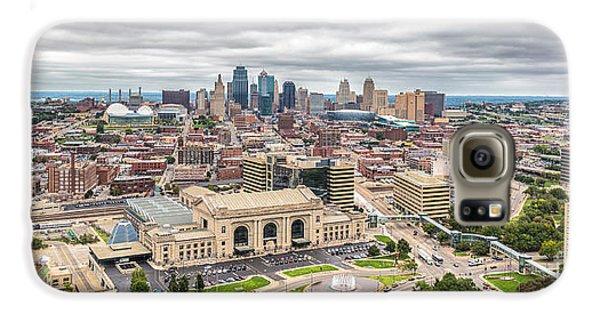 Cloudy Sky Over Kansas City Galaxy S6 Case