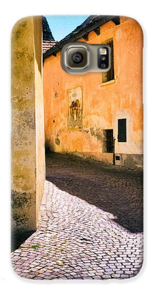 Galaxy S6 Case featuring the photograph Cobbled Street by Silvia Ganora