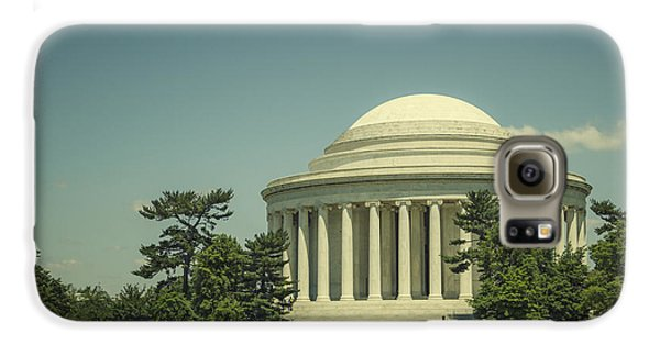 Jefferson Memorial Galaxy S6 Case - Code Of Honor by Evelina Kremsdorf