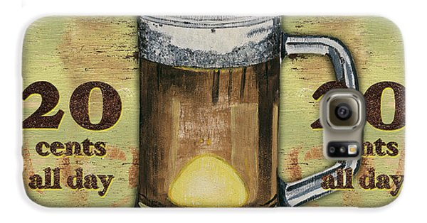 Food And Beverage Galaxy S6 Case - Cold Beer by Debbie DeWitt