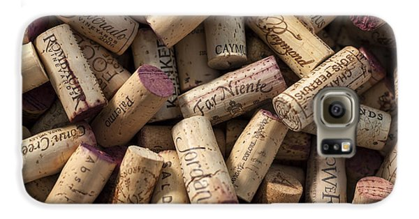Collection Of Fine Wine Corks Galaxy S6 Case