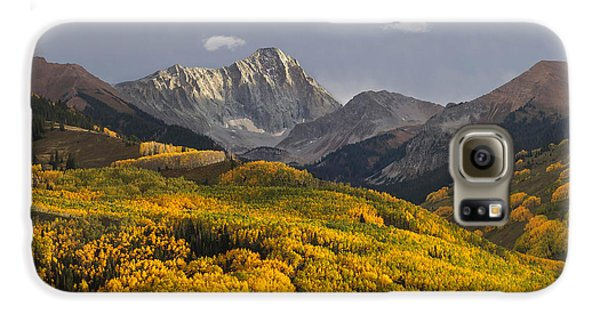 Colorado 14er Capitol Peak Galaxy S6 Case