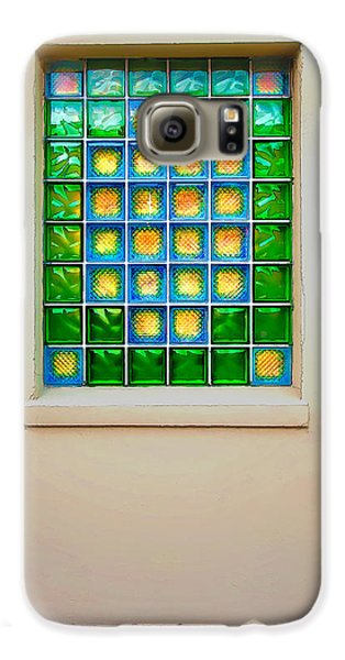 Colorful Savannah Window Galaxy S6 Case