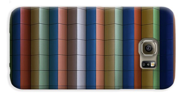 Colours Galaxy S6 Case - Colorful Stripes by Rolf Endermann