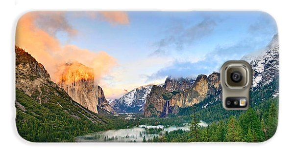 Colors Of Yosemite Galaxy S6 Case by Jamie Pham