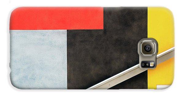 Colours Galaxy S6 Case - Colour Block by Linda Wride