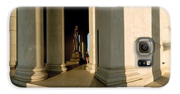 Columns Of A Memorial, Jefferson Galaxy S6 Case by Panoramic Images