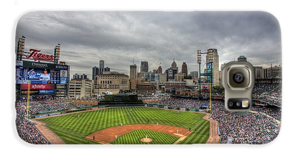 Comerica Park Home Of The Tigers Galaxy S6 Case