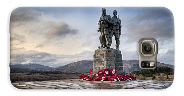 Commando Memorial At Spean Bridge Galaxy S6 Case by Gary Eason