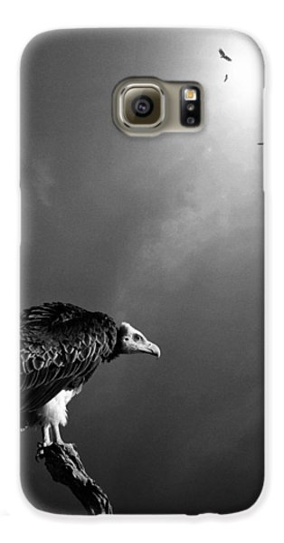 Conceptual - Vultures Awaiting Galaxy S6 Case by Johan Swanepoel