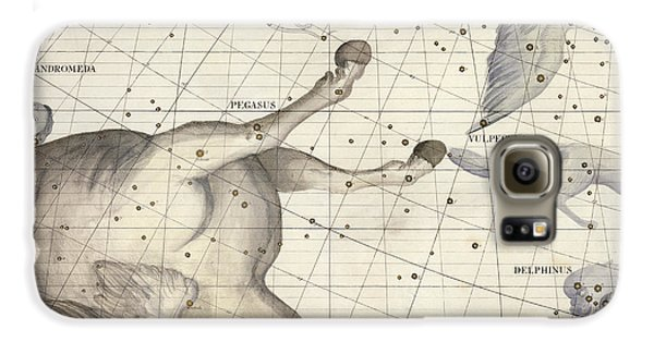 Pegasus Galaxy S6 Case - Constellation Of Pegasus by Sir James Thornhill