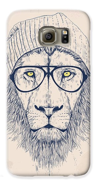 Lion Galaxy S6 Case - Cool Lion by Balazs Solti