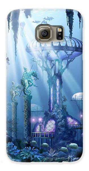 Coral City   Galaxy S6 Case